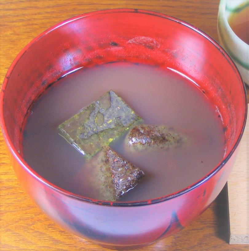 """对冷的日而言正好!""""海滨佐园的茶jiruko"""""""