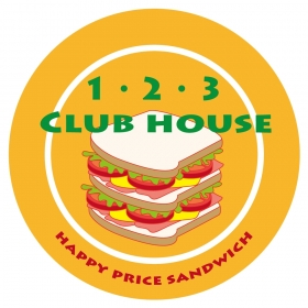 "\ NEW SHOP OPEN/ ""1.2.3 CLUB HOUSE"""