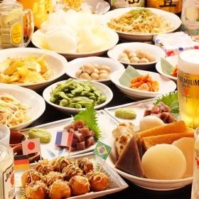 대중 쇼와 선술집 가와사키의 저녁놀 제일 먼저 눈에 띄는 별 가와사키 술집